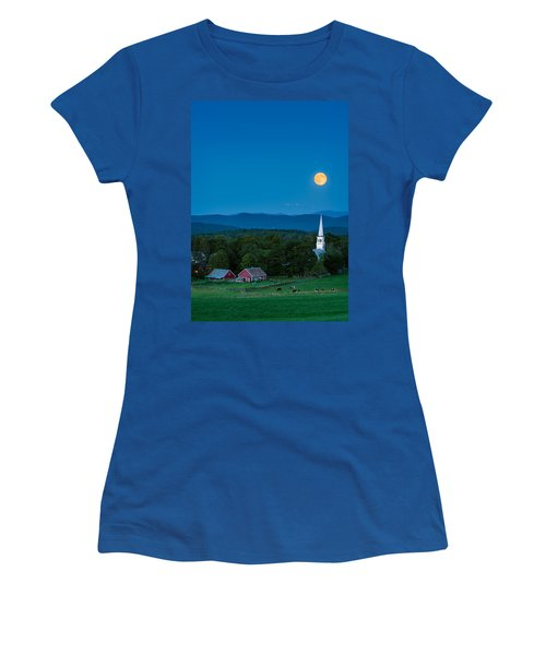 Pointing At The Moon Women's T-Shirt