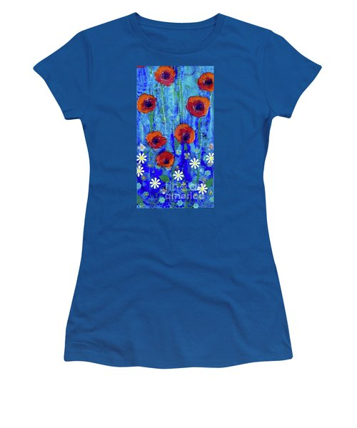 Poppy Dance Women's T-Shirt (Athletic Fit)