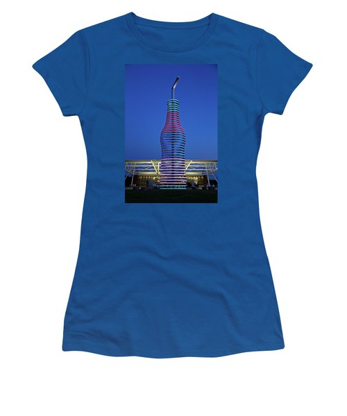 Pops Women's T-Shirt (Junior Cut) by Lana Trussell