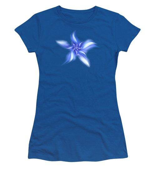 Pretty Blue Flower Women's T-Shirt