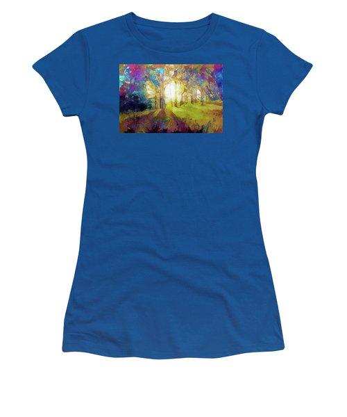 Prismatic Forest Women's T-Shirt