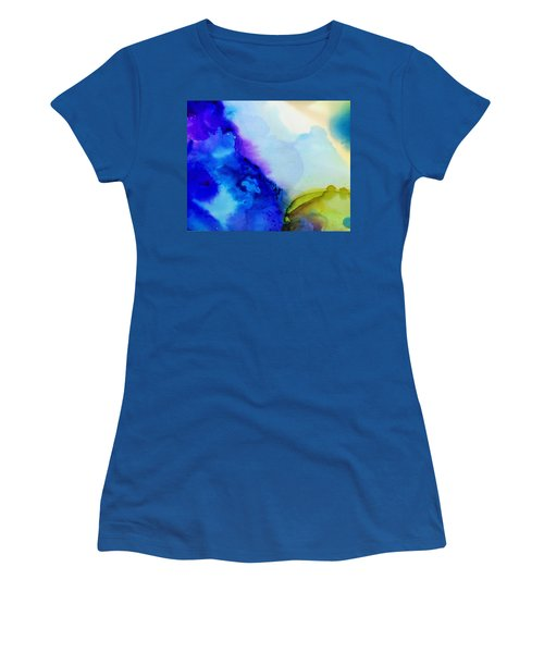 Purple Flow Women's T-Shirt (Athletic Fit)