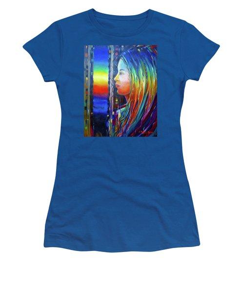 Rainbow Girl 241008 Women's T-Shirt