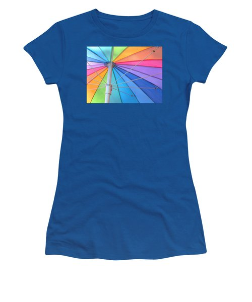 Rainbow Umbrella Women's T-Shirt
