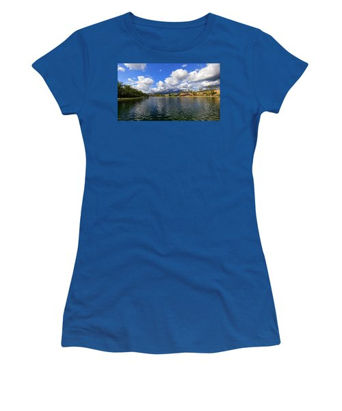 Rancho Santa Margarita Lake Women's T-Shirt (Athletic Fit)