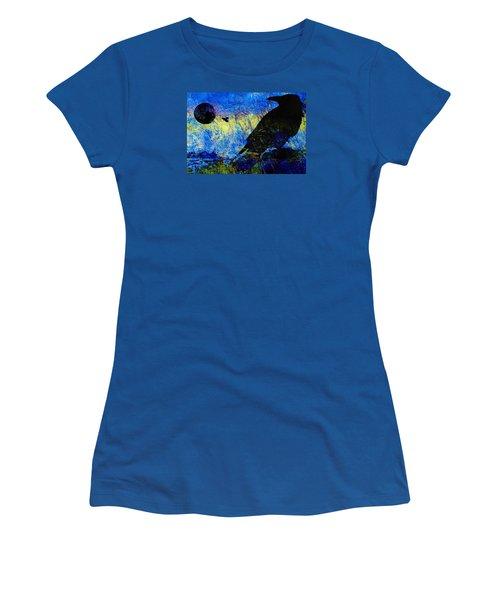Raven Study 2 Women's T-Shirt (Junior Cut)