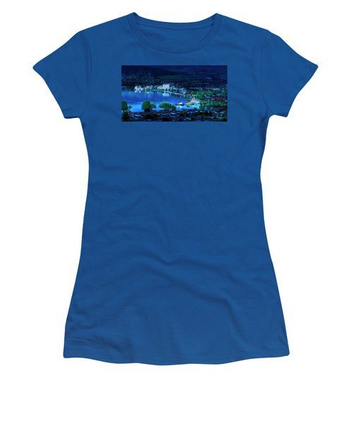 Women's T-Shirt (Athletic Fit) featuring the photograph Raven's Eye View by John Poon