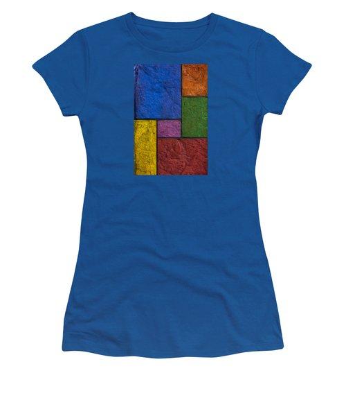 Rectangles Women's T-Shirt (Junior Cut) by Don Gradner