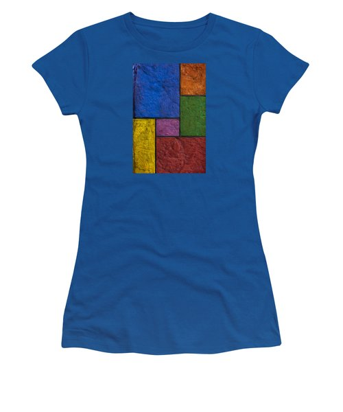 Rectangles Women's T-Shirt (Athletic Fit)