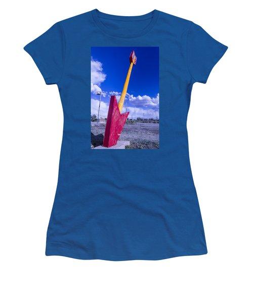 Red Arrow 2 Women's T-Shirt