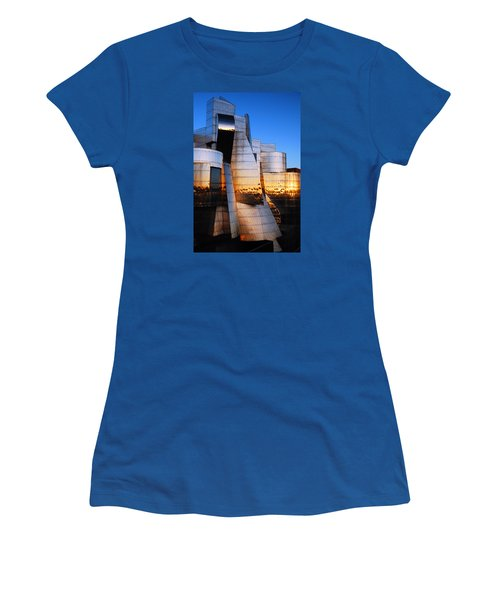 Reflections Of Sunset Women's T-Shirt (Junior Cut) by James Kirkikis
