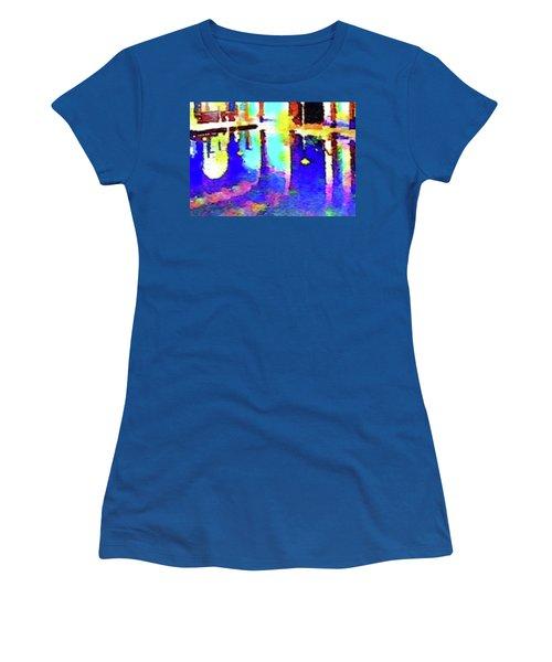 Reflective Pool Hearst Castle Women's T-Shirt