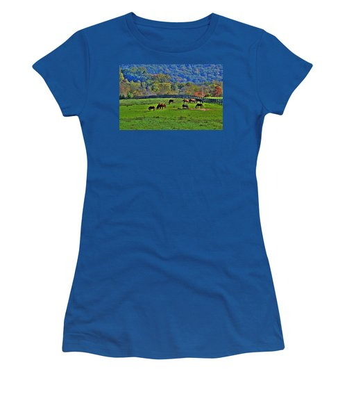 Rescue Horses Women's T-Shirt (Athletic Fit)
