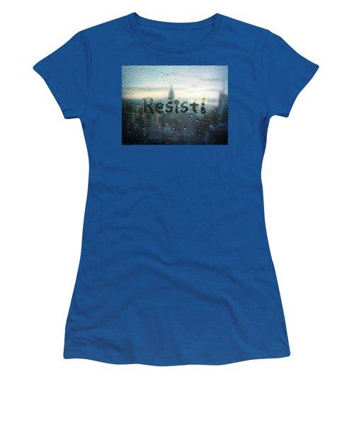Resistance Foggy Window Women's T-Shirt