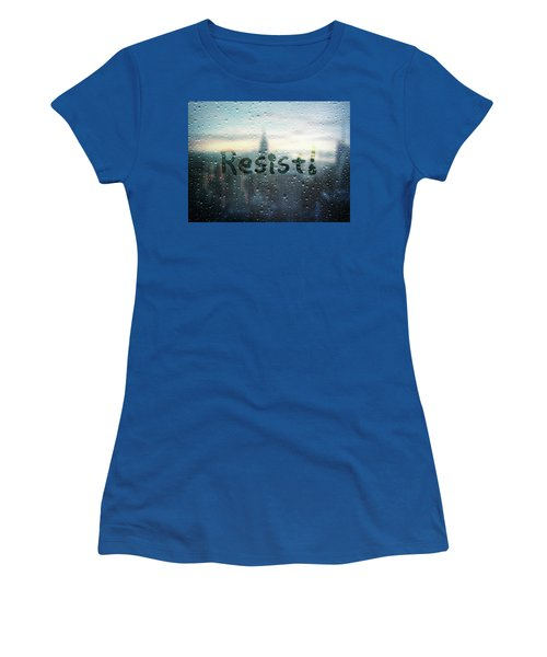 Resistance Foggy Window Women's T-Shirt