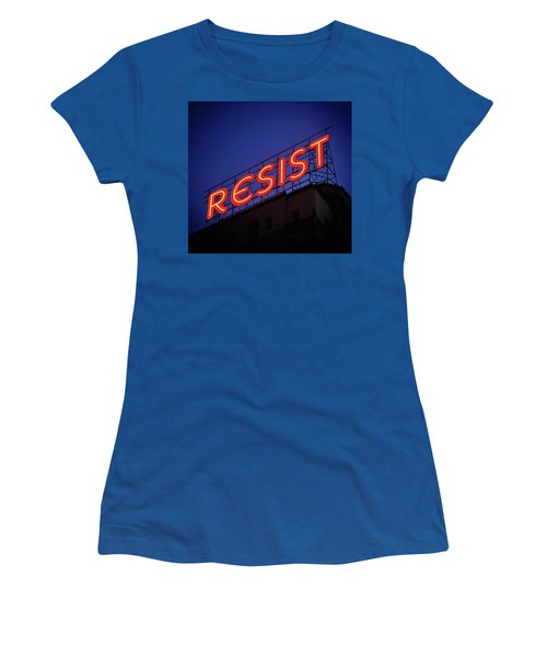 Resistance Neon Lights Women's T-Shirt