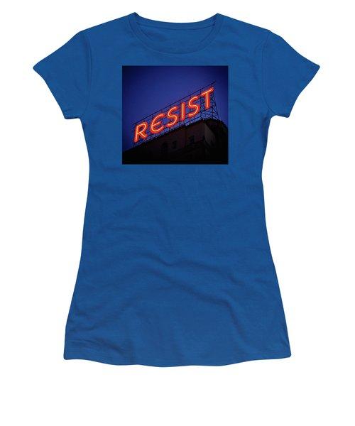 Resistance Neon Lights Women's T-Shirt