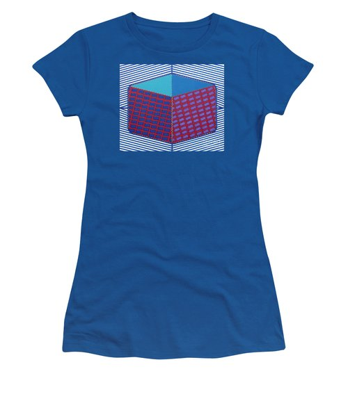 Women's T-Shirt featuring the drawing Rfb1016 by Robert F Battles