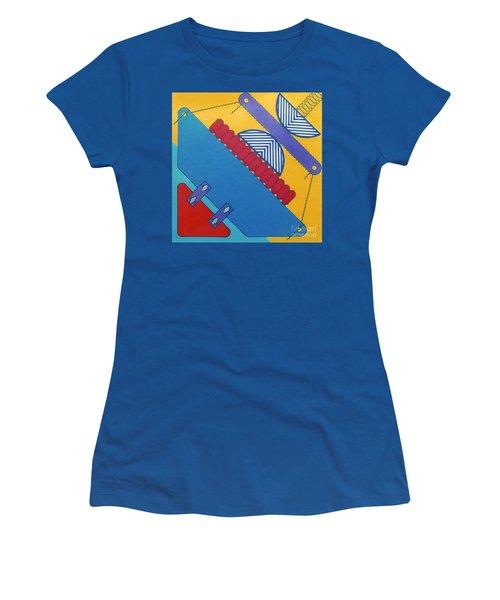 Women's T-Shirt featuring the drawing Rfb1026 Diagonal by Robert F Battles