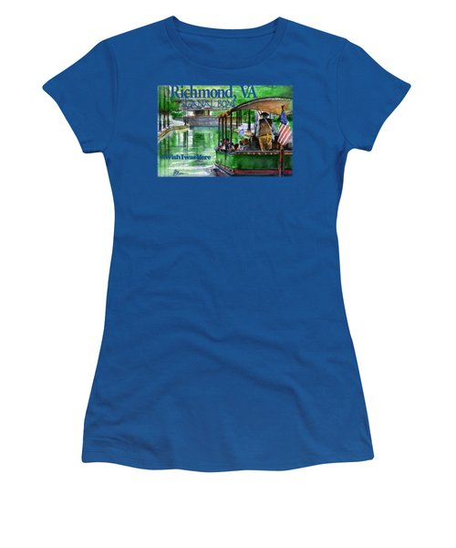 Richmond Va Canal Boat Women's T-Shirt