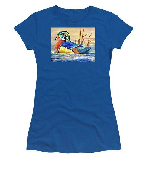 River Wood Duck Women's T-Shirt