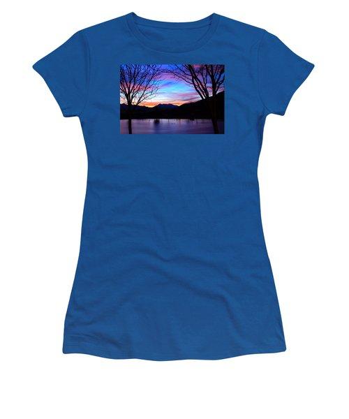 Rose Canyon Women's T-Shirt (Junior Cut) by Paul Marto