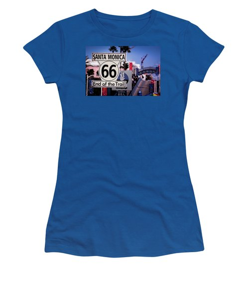 Route 66 End Of Trail Women's T-Shirt