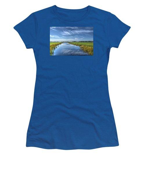 Royal Canal And Grasslands Women's T-Shirt