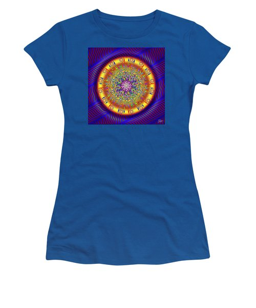 Sacred Geometry 649 Women's T-Shirt (Athletic Fit)