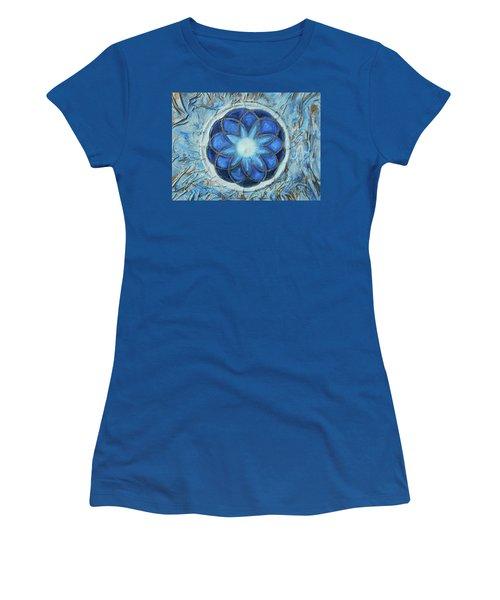 Sacred Geometry Women's T-Shirt (Junior Cut) by Angela Stout