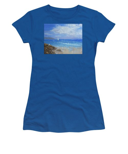 Sailing Away Women's T-Shirt (Athletic Fit)