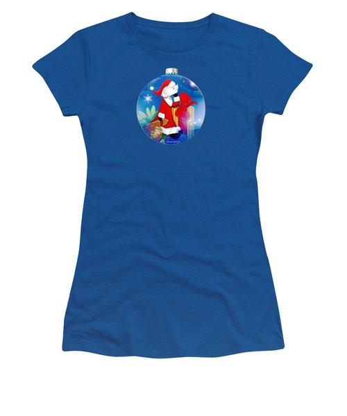 Santa Mouse Child's Shirt Women's T-Shirt (Athletic Fit)