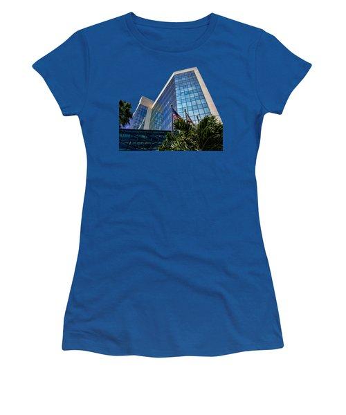 Sarasota Architecture Glass Transparency Women's T-Shirt
