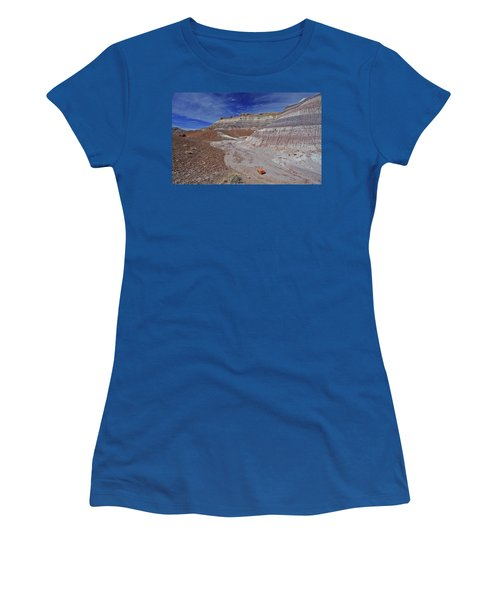 Scattered Fragments Women's T-Shirt (Athletic Fit)