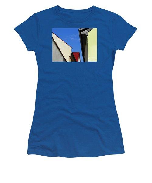Schierstein Geometrics Women's T-Shirt (Junior Cut) by Sarah Loft