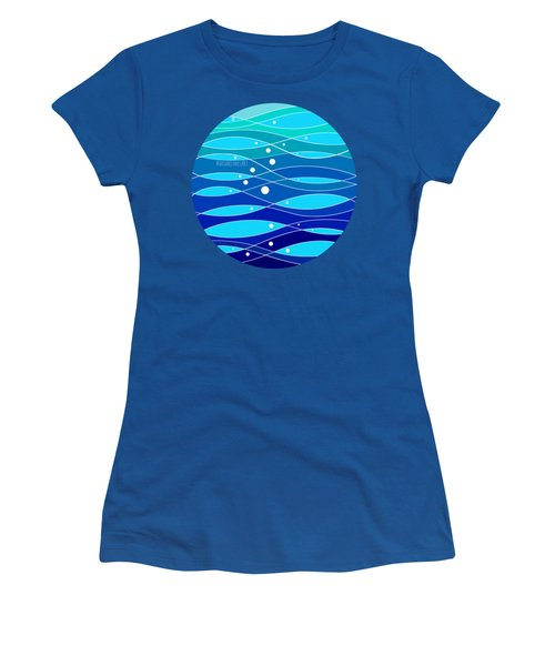 School Fish I Women's T-Shirt (Athletic Fit)