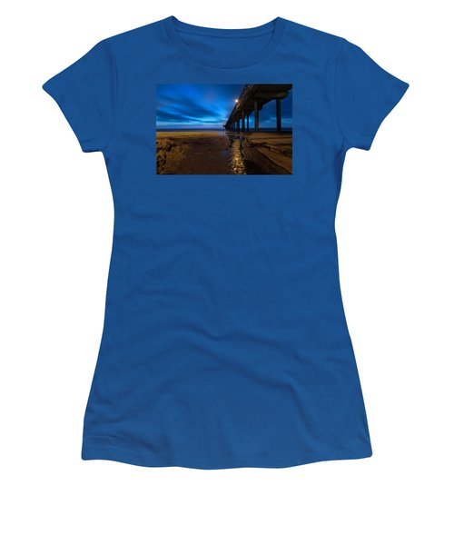 Scripps Pier Blue Hour Women's T-Shirt