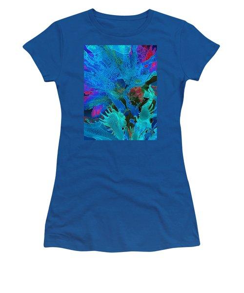 Sea Flower Women's T-Shirt (Athletic Fit)