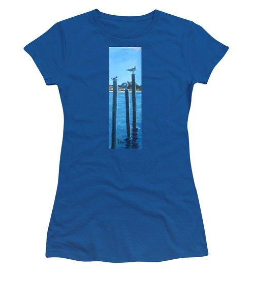 Seagull On A Stick Women's T-Shirt (Athletic Fit)