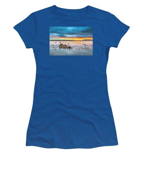 Seagull Sunset Women's T-Shirt