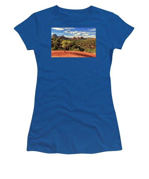 Sedona Afternoon Women's T-Shirt (Junior Cut) by James Eddy