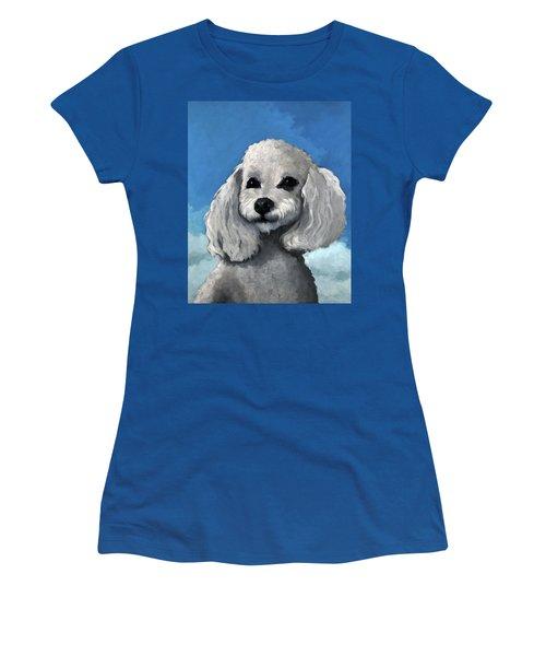 Sherman - Poodle Pet Portrait Women's T-Shirt