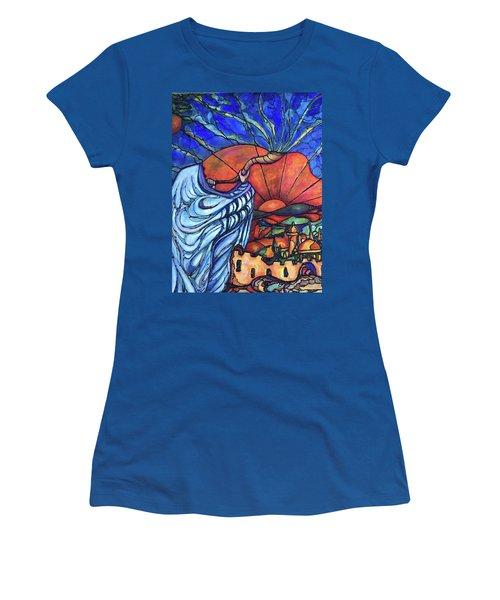 Shofar Women's T-Shirt (Junior Cut) by Rae Chichilnitsky