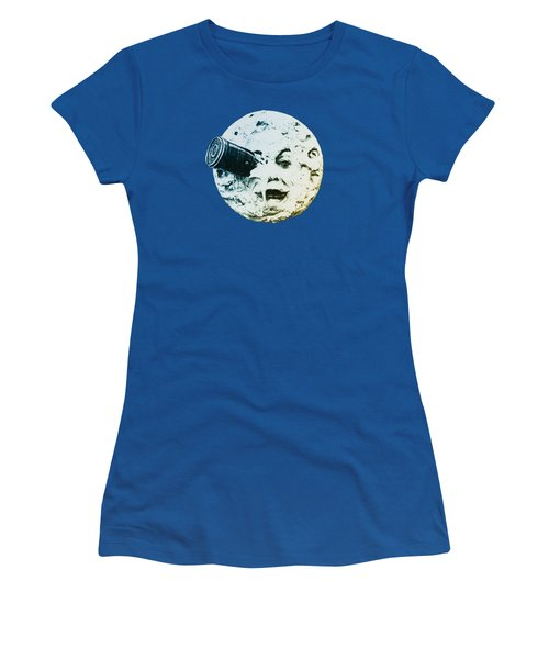 Women's T-Shirt (Junior Cut) featuring the photograph Shoot The Moon by Bill Cannon