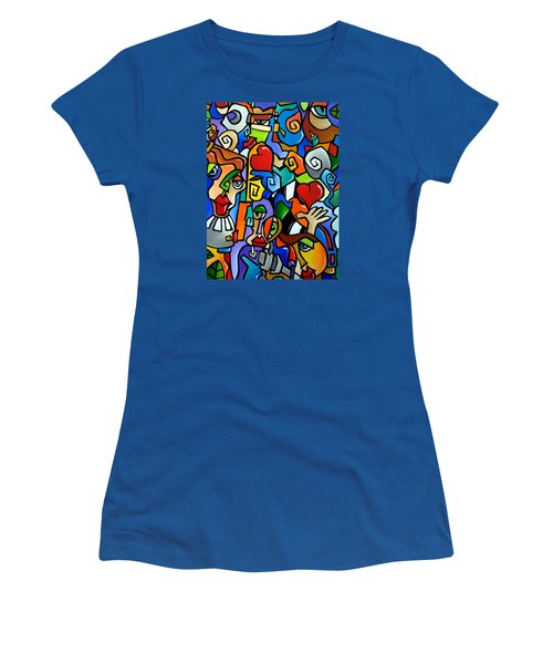Side Show Women's T-Shirt (Athletic Fit)