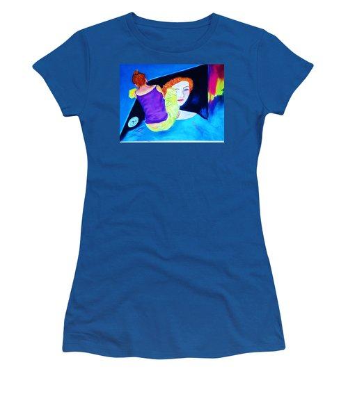 Sidewalk Artist II Women's T-Shirt