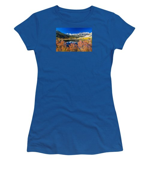 Sierra Foliage Women's T-Shirt (Junior Cut) by Tassanee Angiolillo