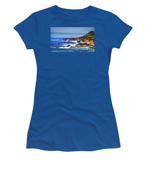 Women's T-Shirt (Junior Cut) featuring the photograph Sit And Stare Beach by Joseph Hollingsworth