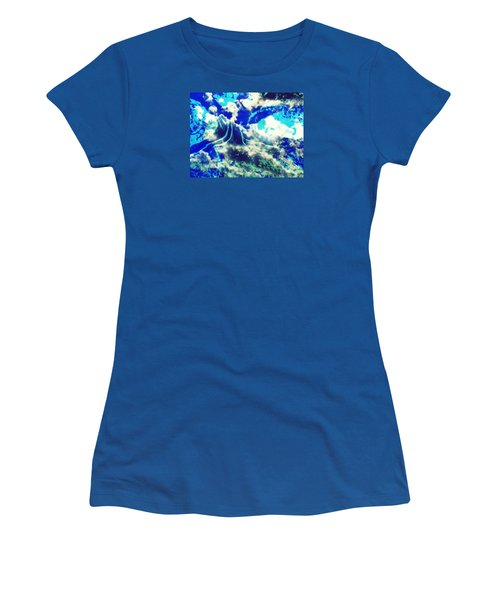 Sky Tree Fantasy Women's T-Shirt (Athletic Fit)