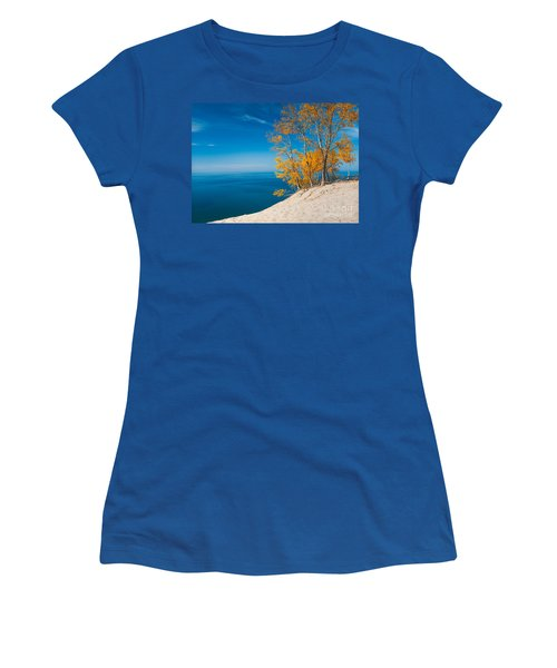 Sleeping Bear Dunes Vista 002 Women's T-Shirt (Athletic Fit)